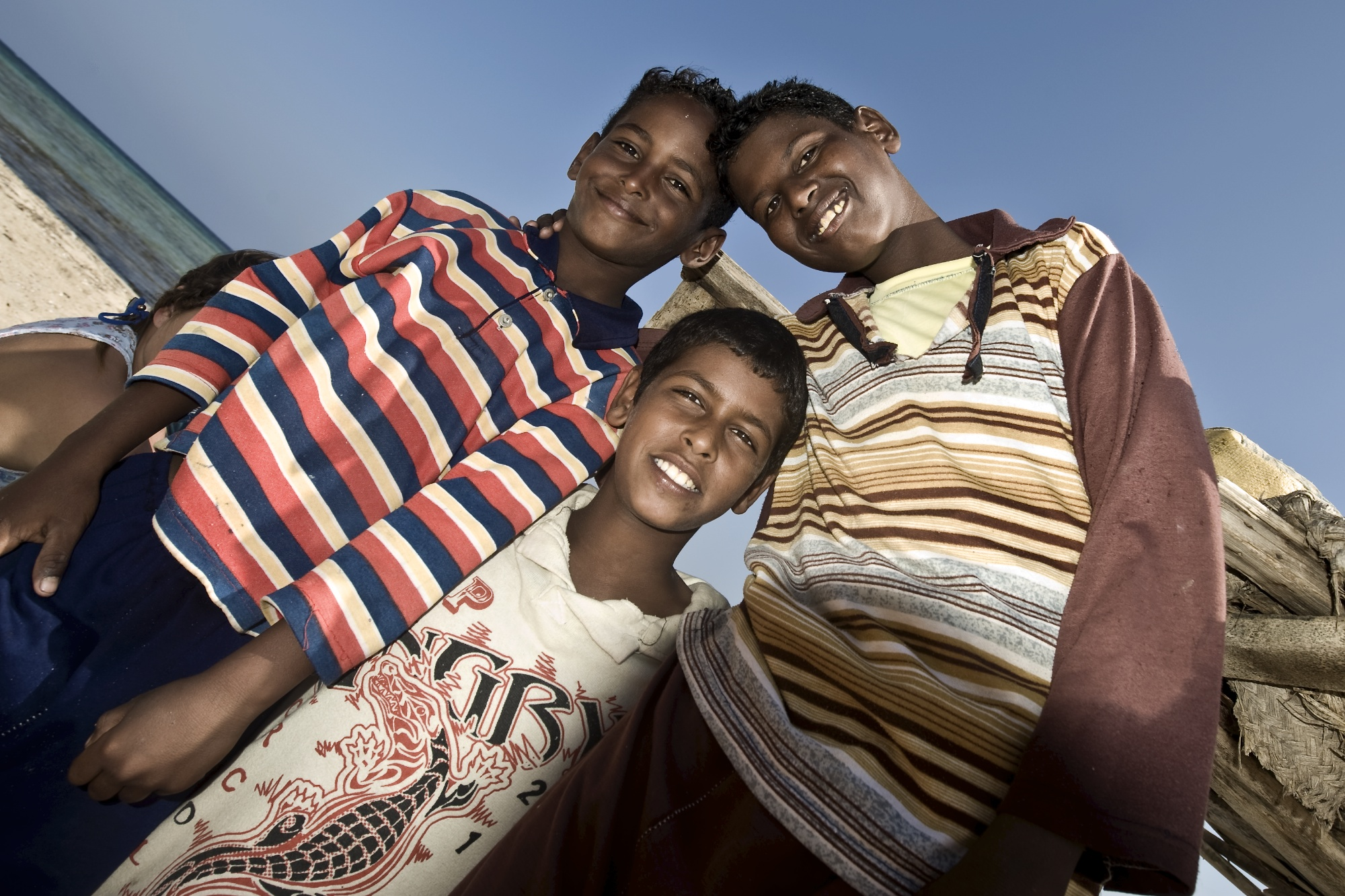 Beduin Boys, Abu Ghusun, southern Egypt