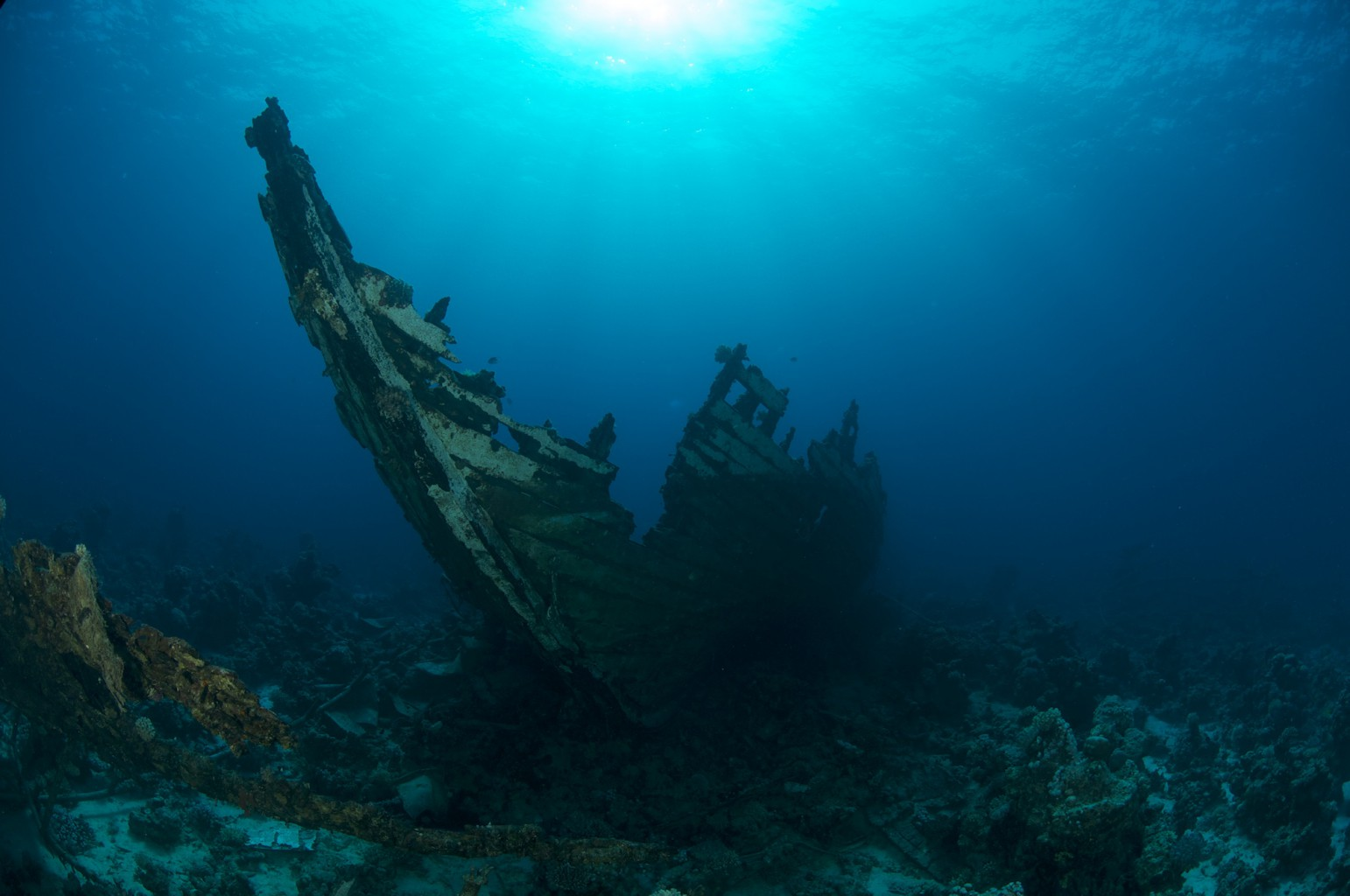 Sunken Safari Boat, Red Sea, Egypt