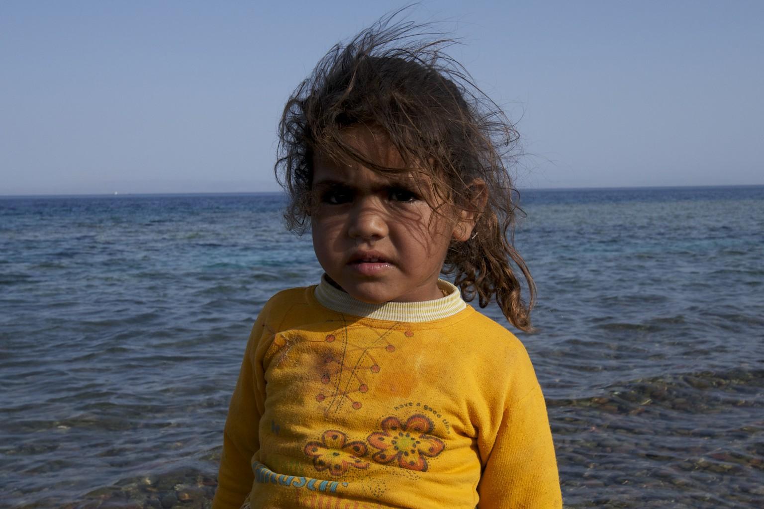 Beduin Children, Sinai, Egypt