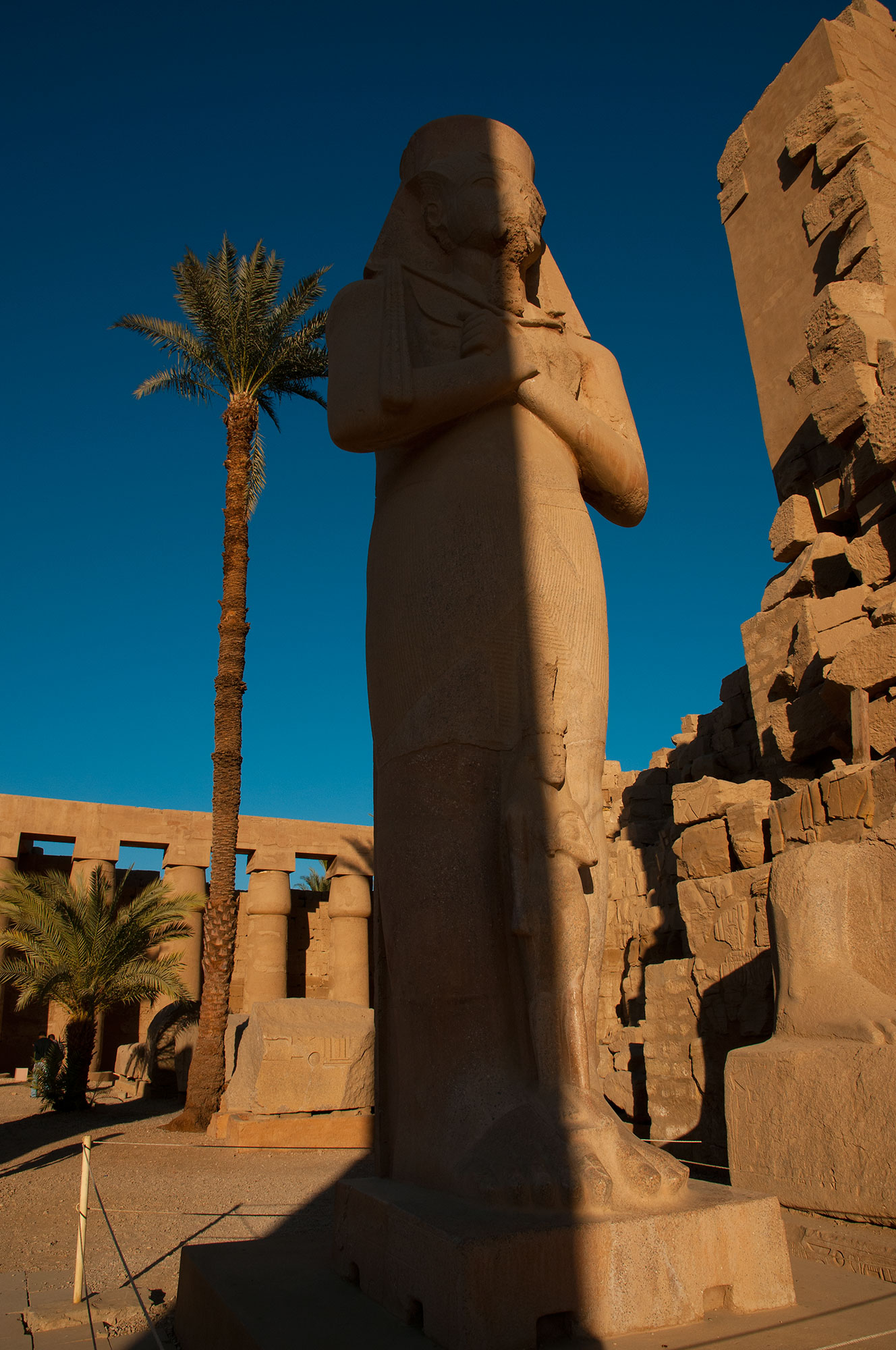 Ancient Egyptian Temple, Luxor, Egypt