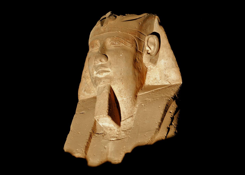 Ancient Egyptian Monument, Luxor Egypt