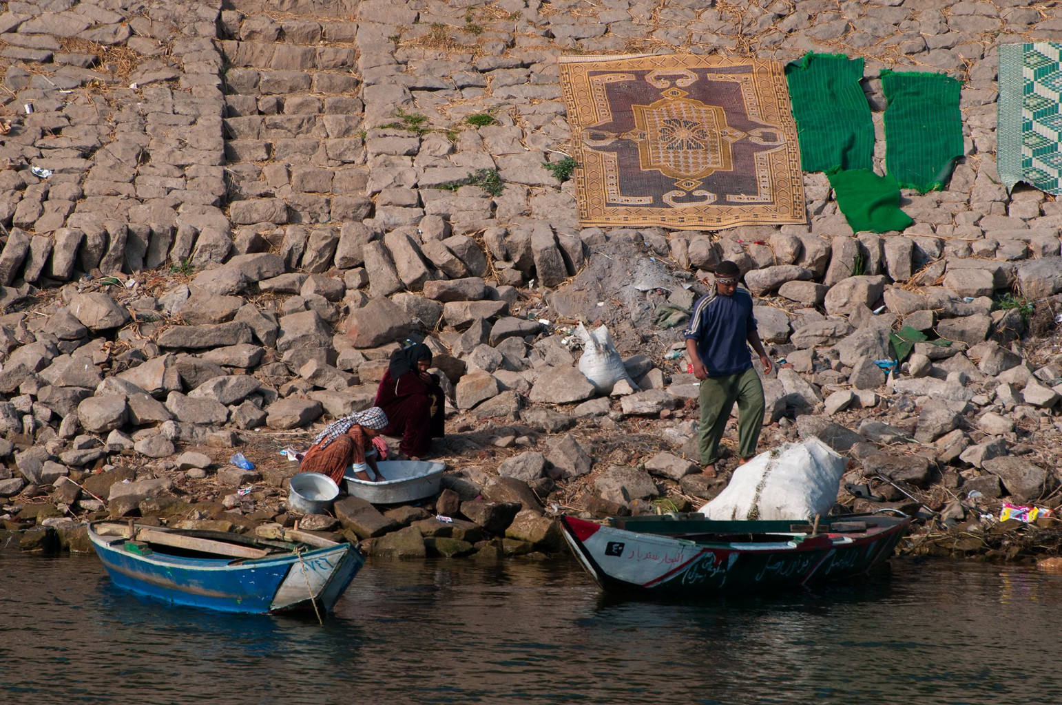 Life along the Nile in Egypt