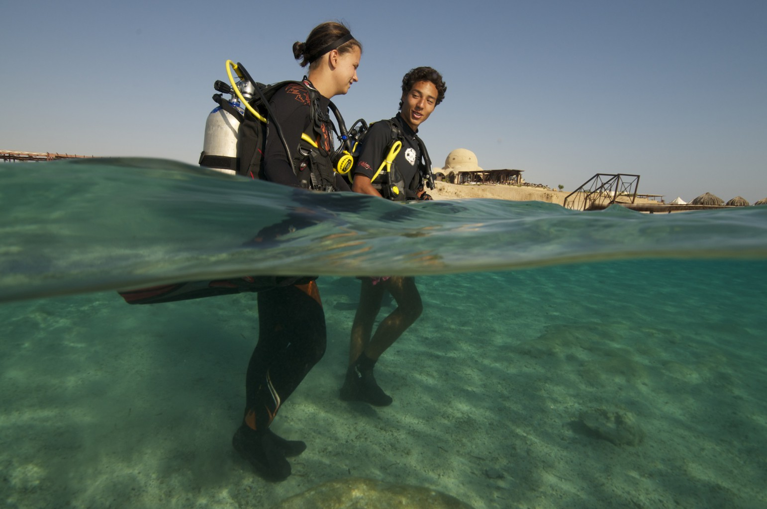 Egyptian Diver from Cairo