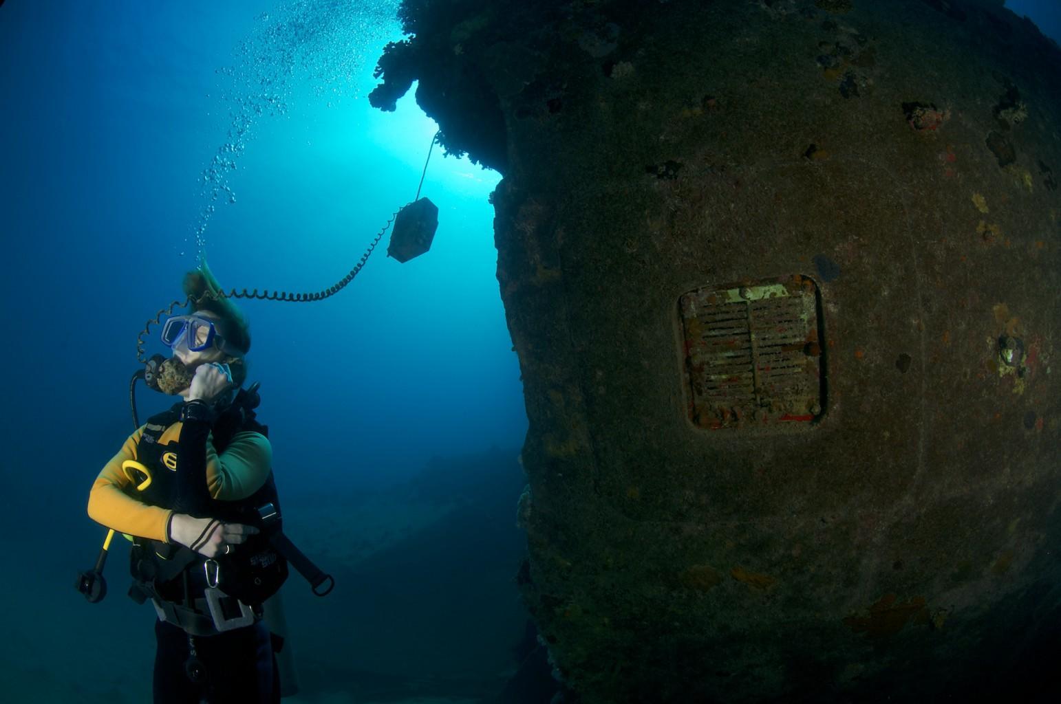 Freighter Wreck, Abu Ghusun, southern Red Sea, Egypt