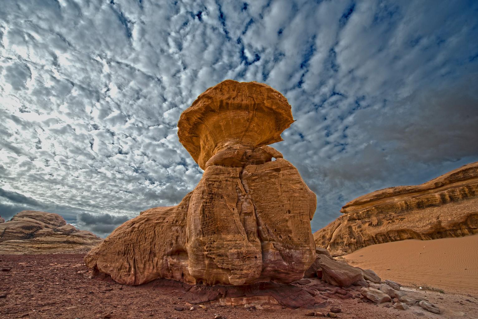 Incredible Monuments of Wadi Rum
