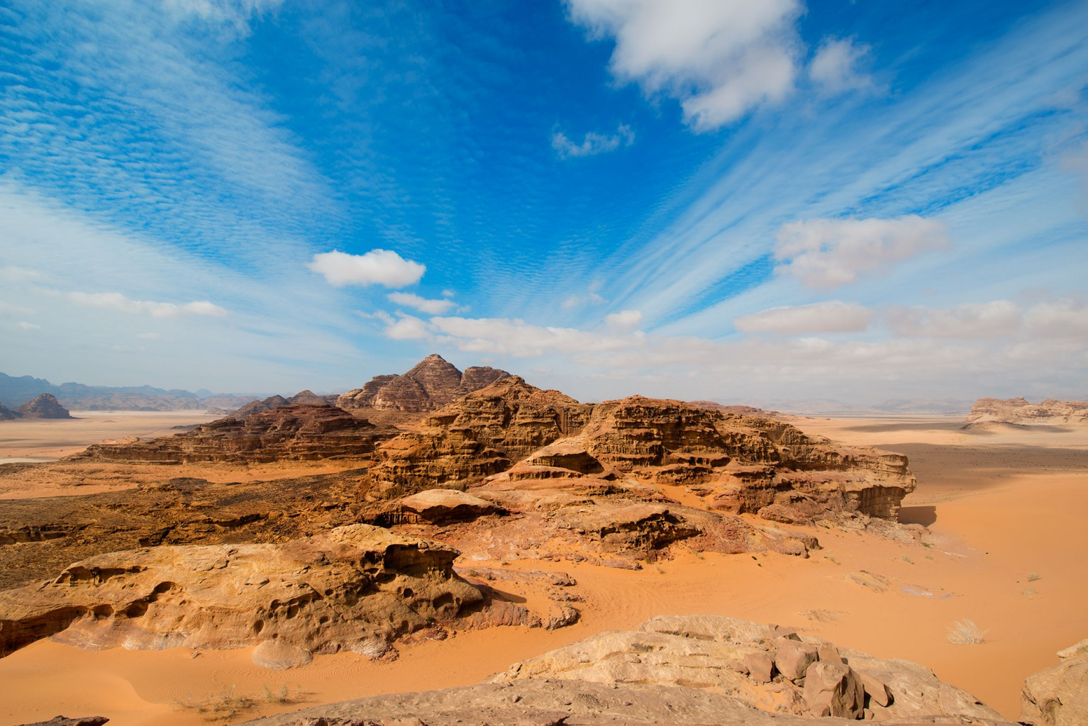 Wadi Rum, breathtaking landscape