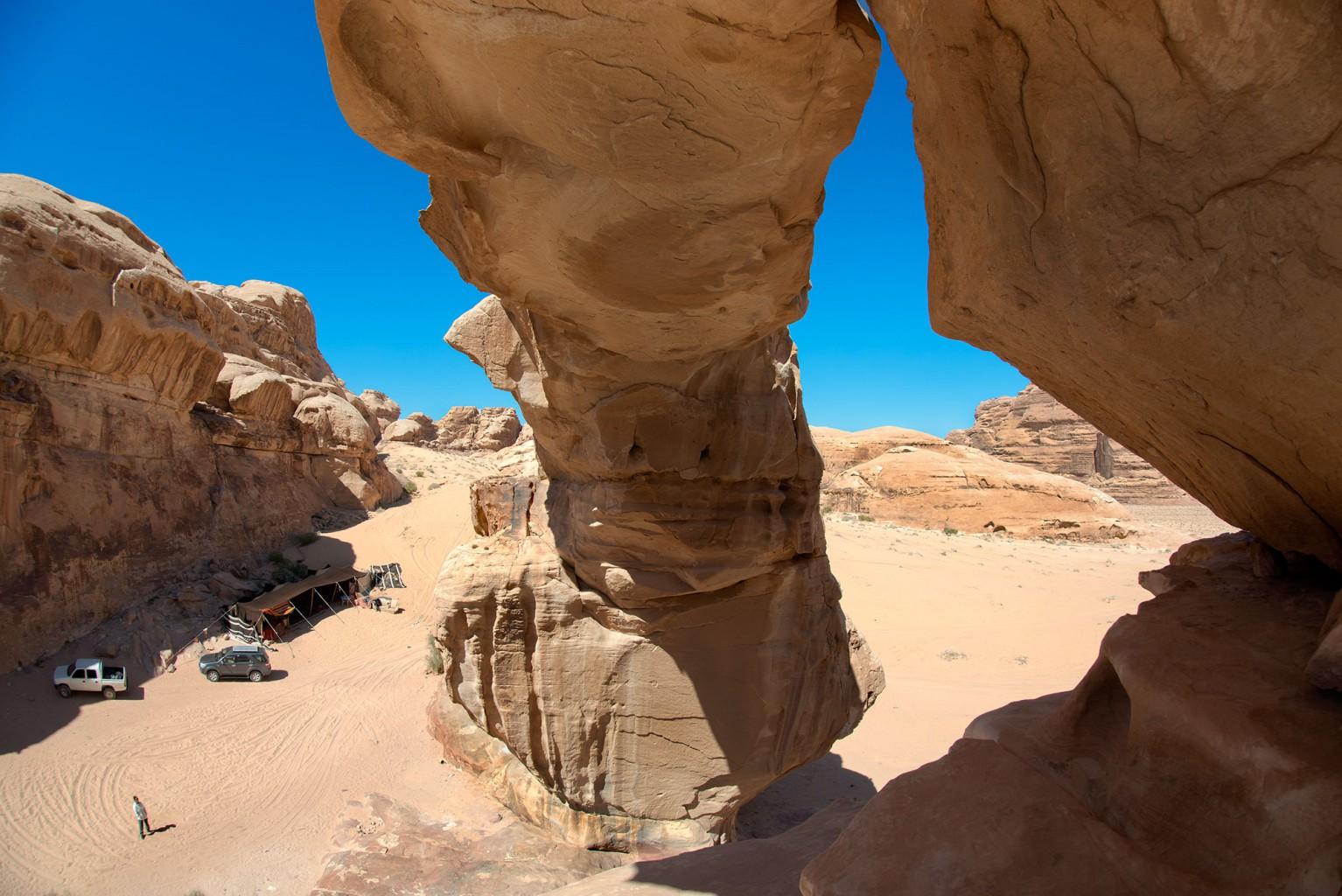 Incredible Sandstone Bridges of Wadi Rum