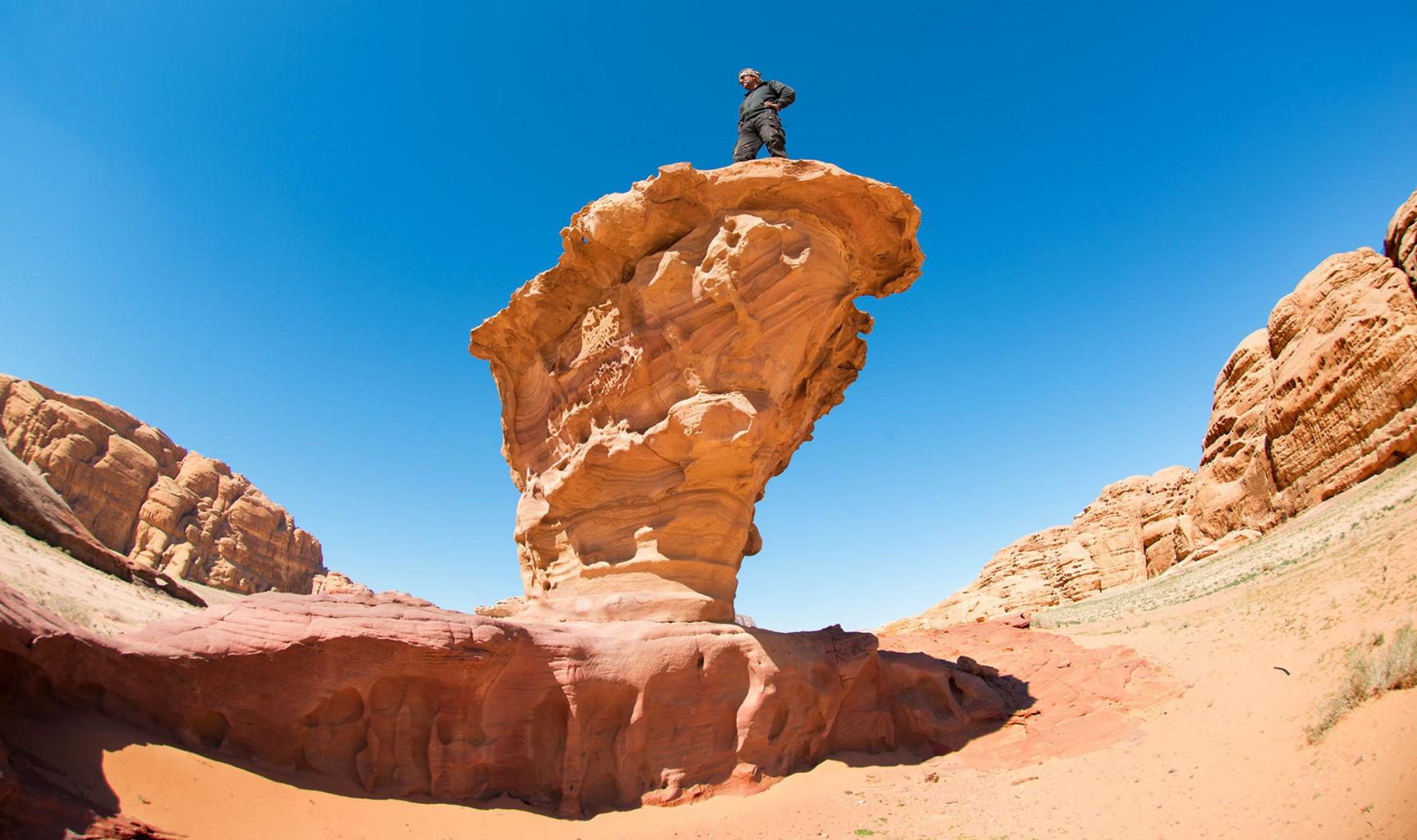 Incredible Monument of Wadi Rum