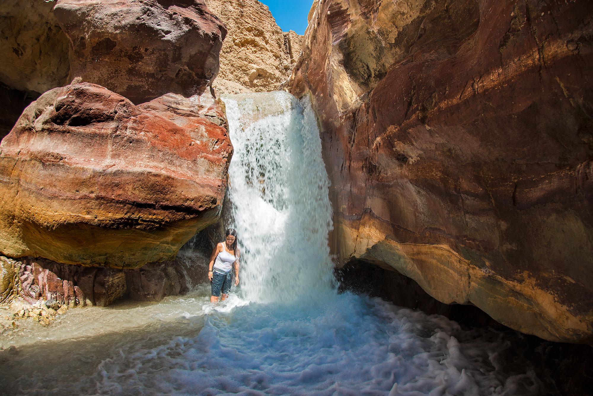 Hot Spring Waterfall