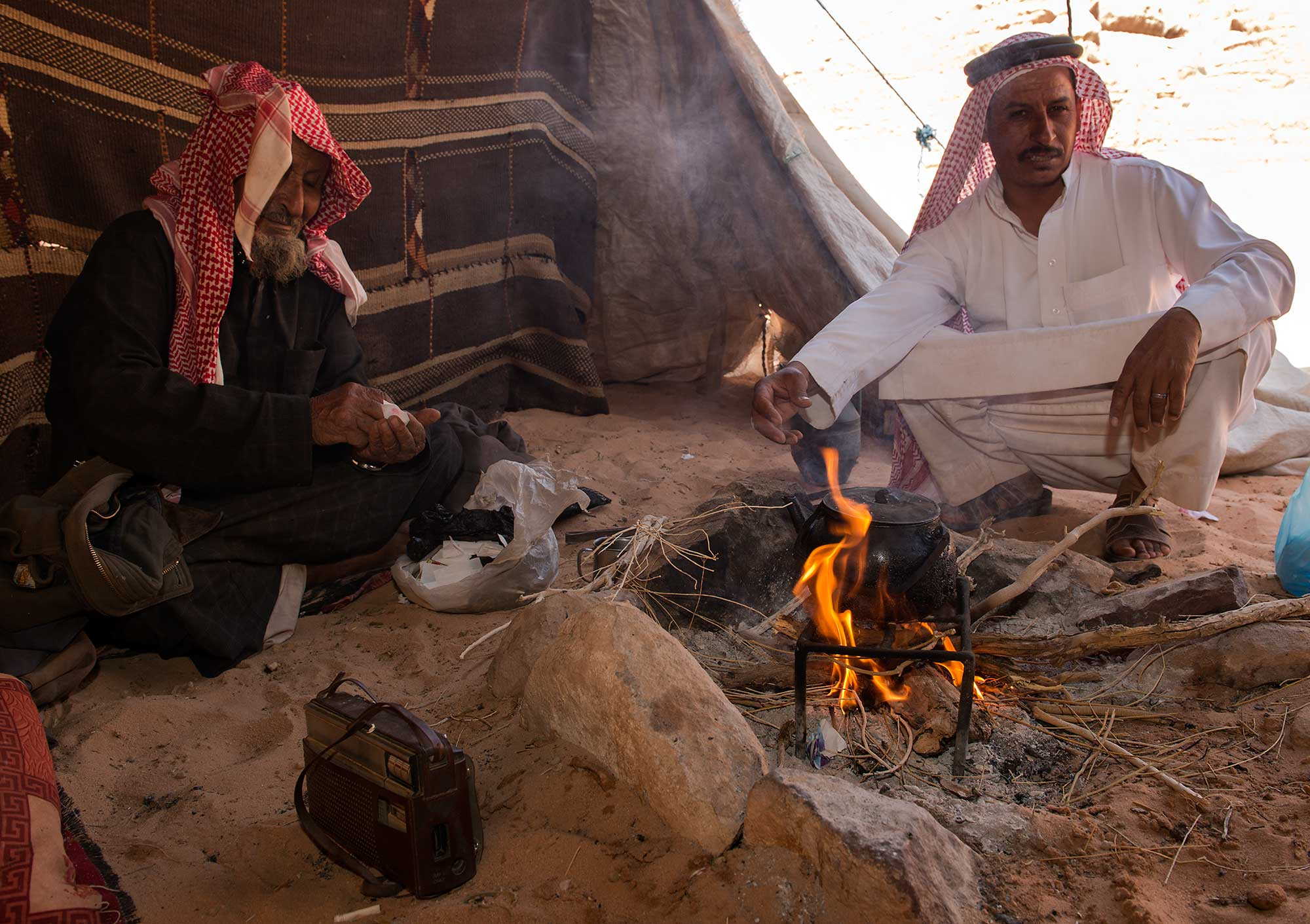Friendly Hospitality at a Beduin Home in Wadi Rum