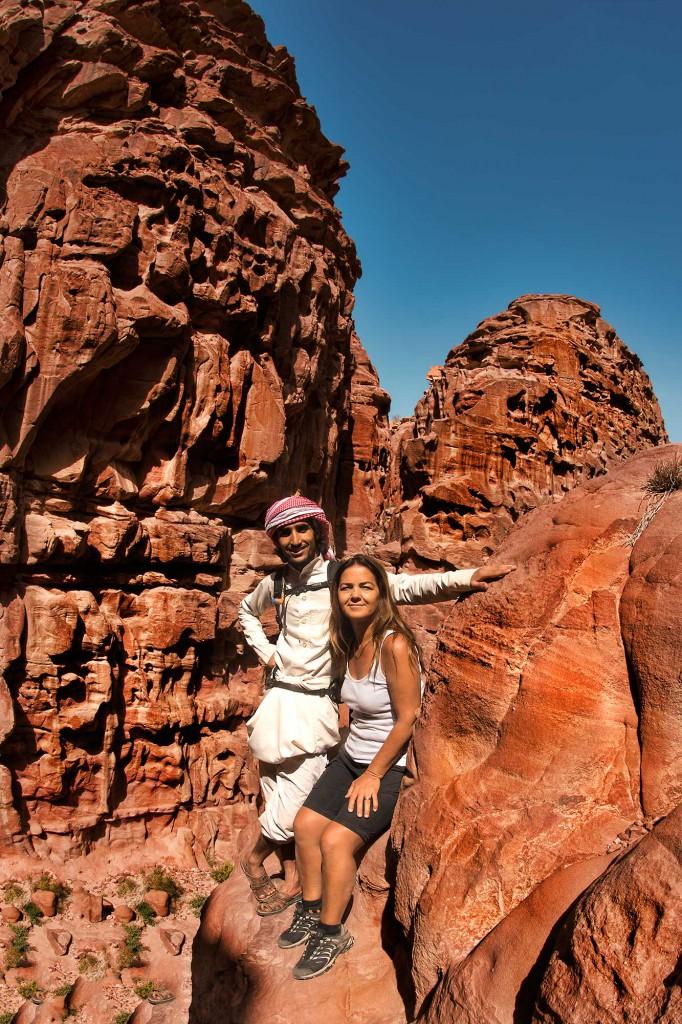 Wadi Rum, the best hikes we ever took.