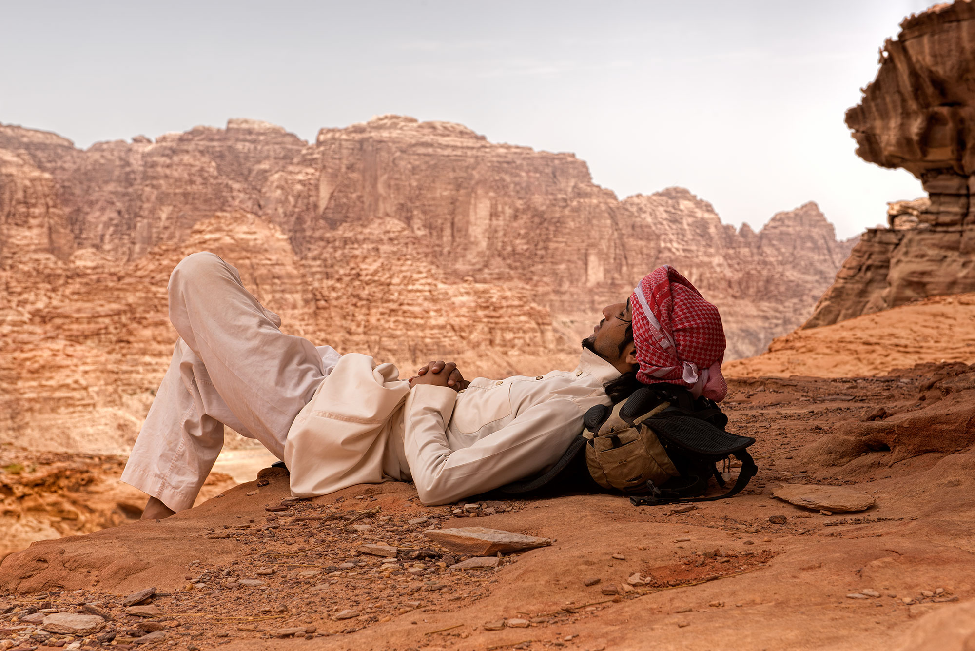 Wadi Rum, a relaxing place in the Kingdom of Jordan