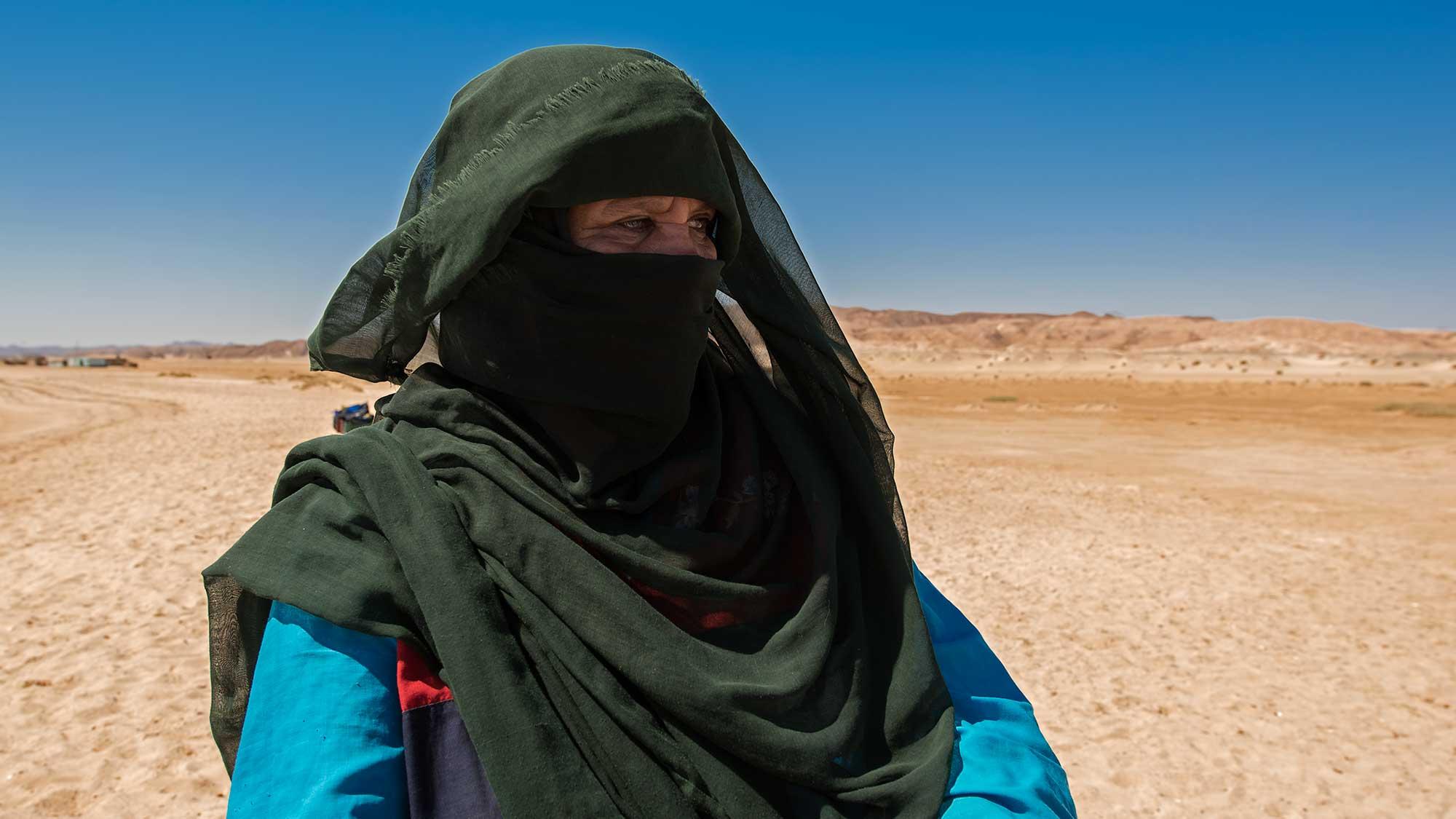 Egyptian Beduin Woman, Ras Abu Ghusun, Red Sea