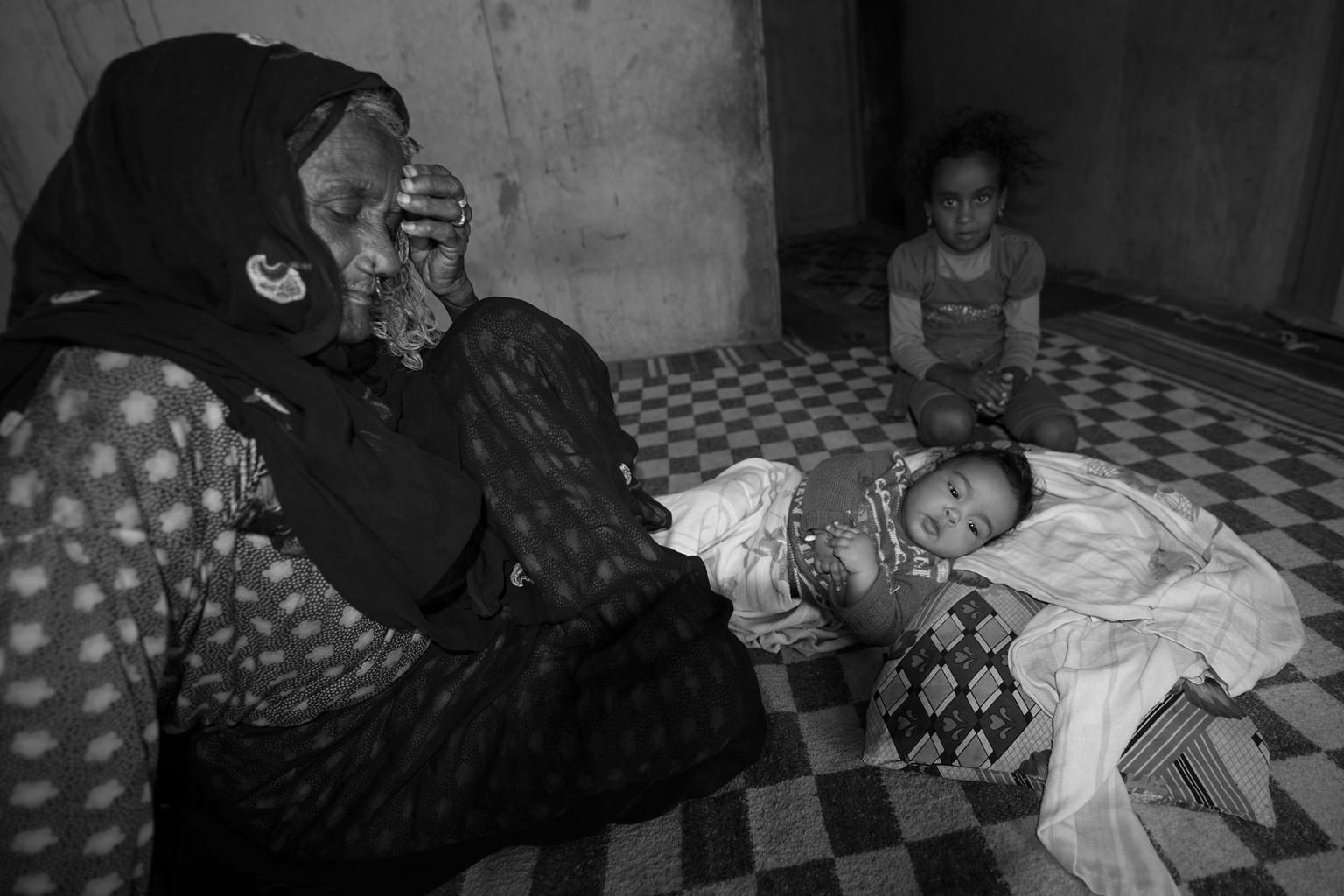 Beduin Family at Ras Abu Ghusun, Red Sea - Egypt