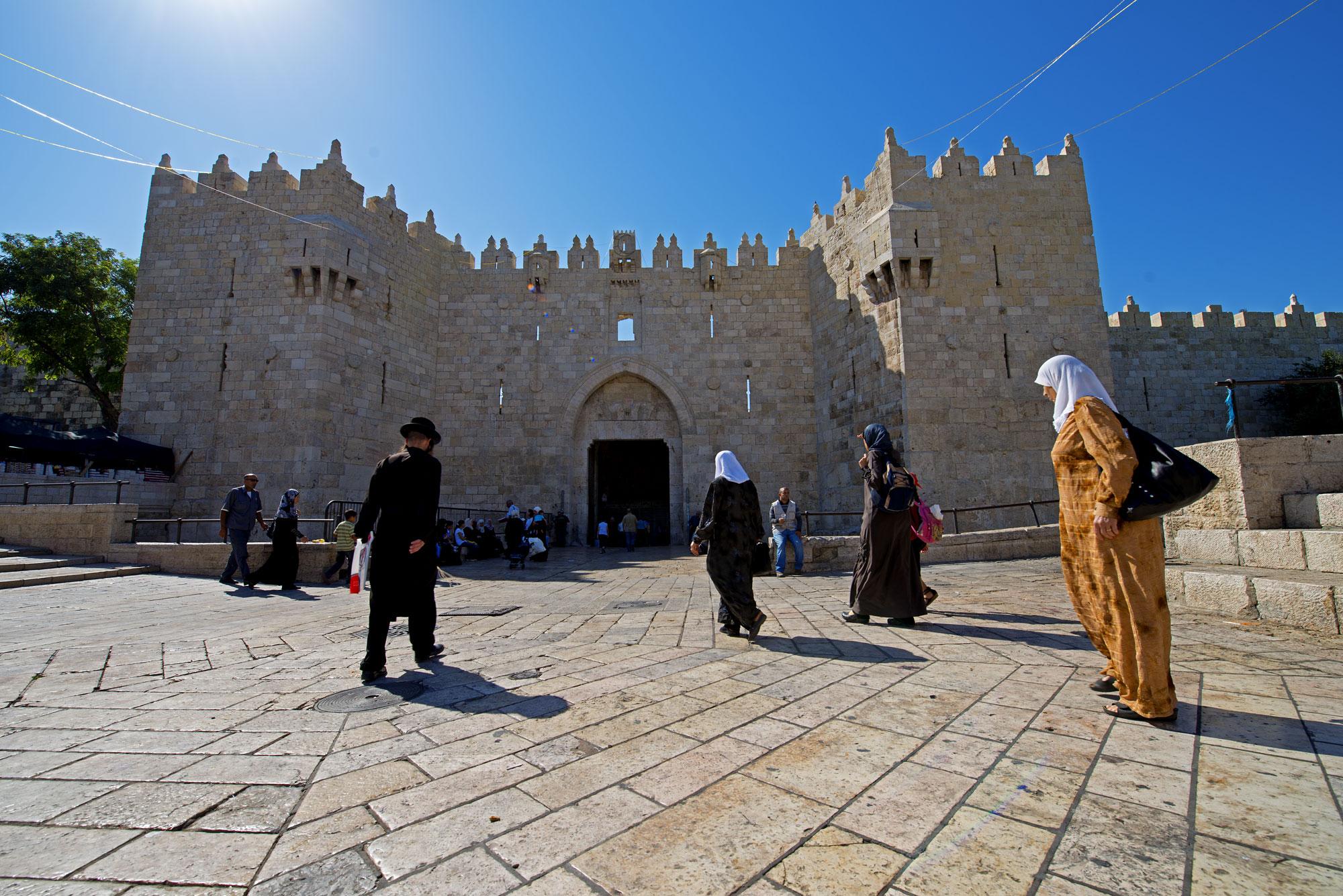 Jerusalem, Damascus Gate - Israel