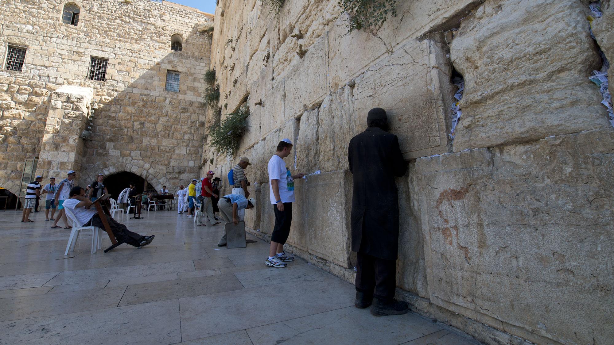 Jerusalem, the Wailing Wall - Israel