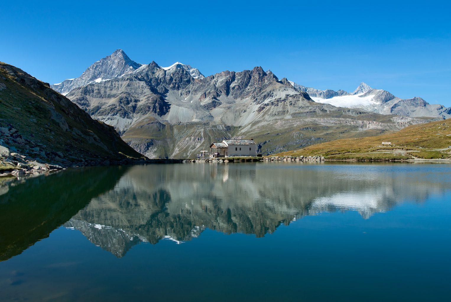 Schwarzsee, Matterhorn, Zermatt, Switzerland