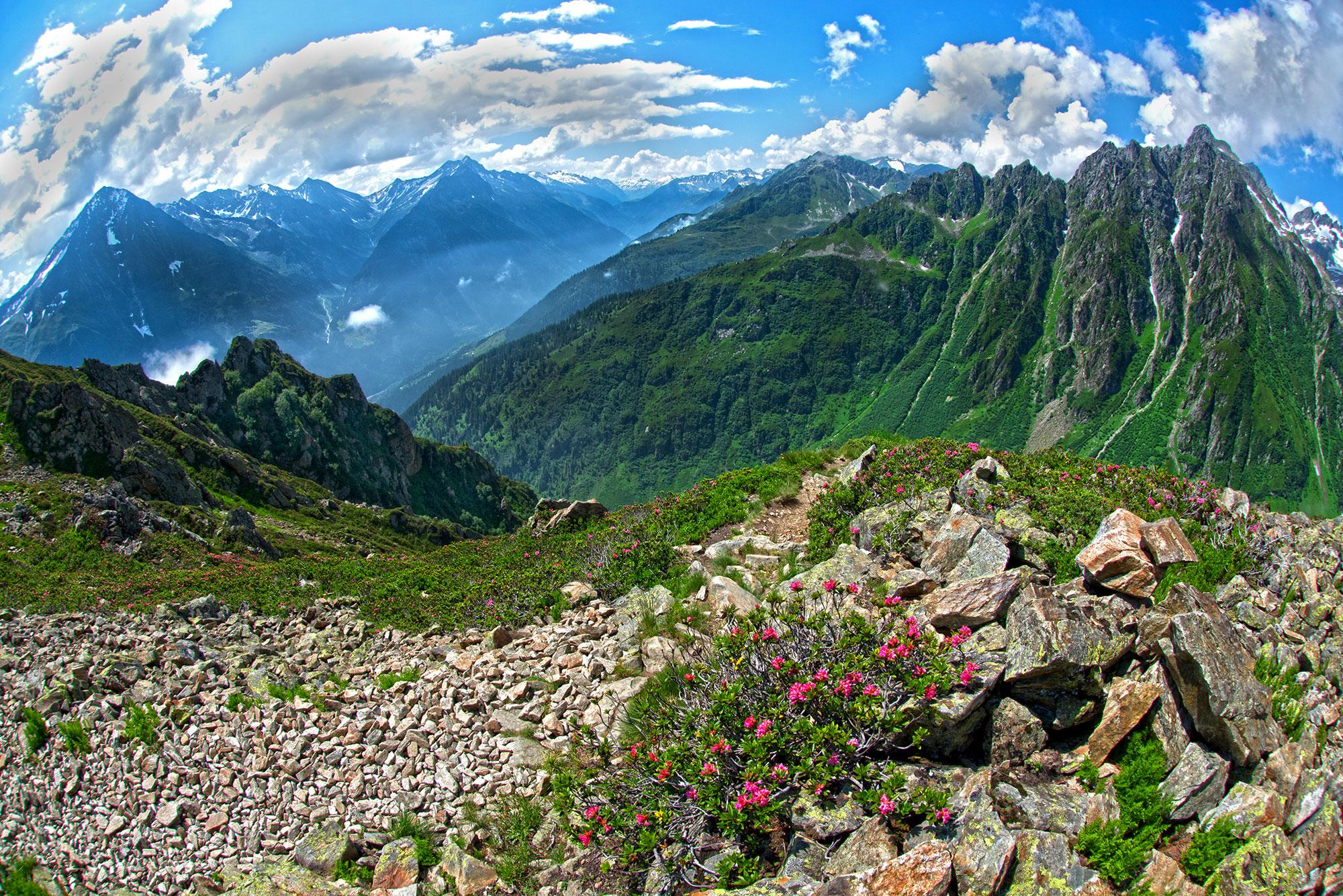 Sunniggrätli - Leutschachhütte, Canton Uri - Switzerland