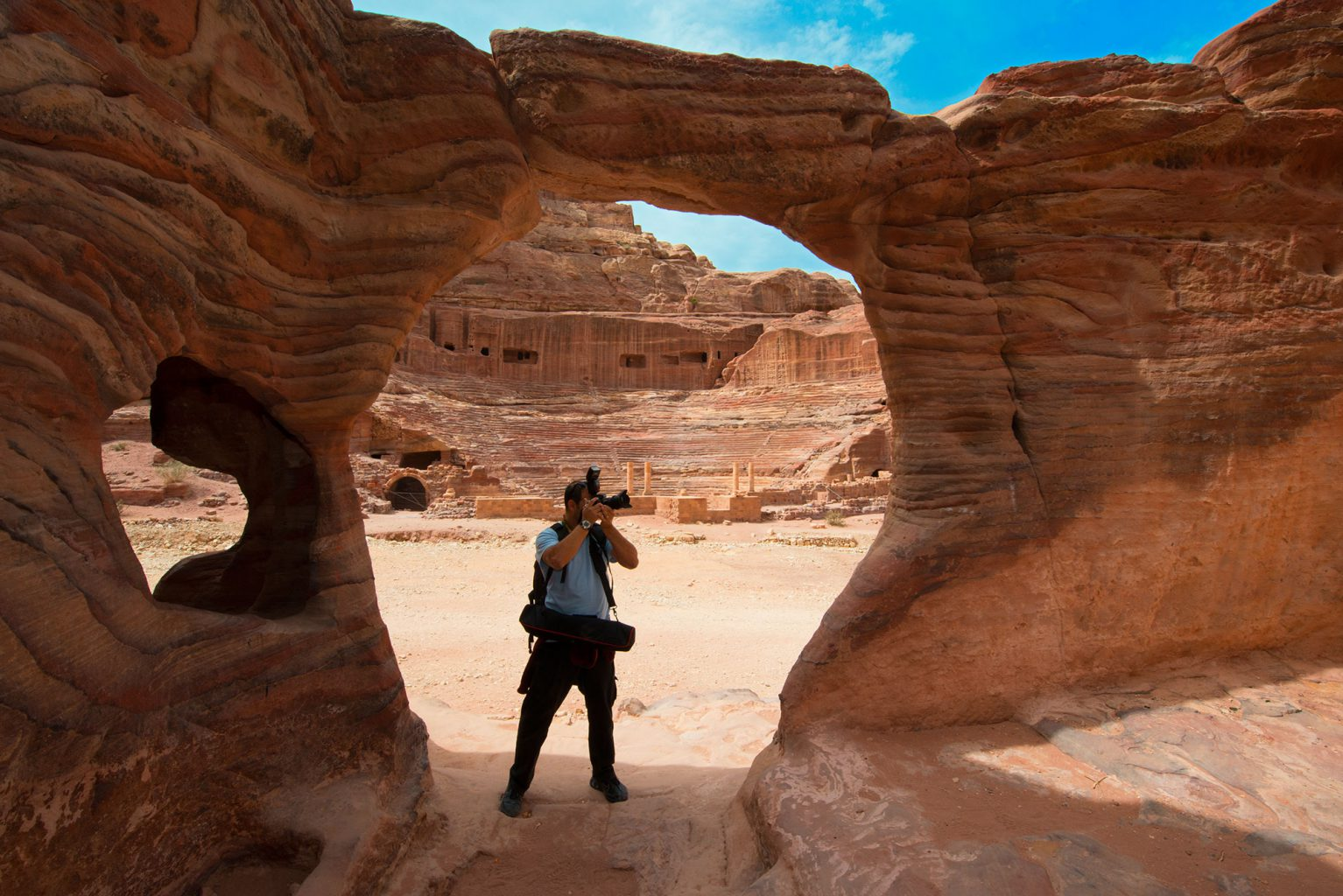 Ancient Nabatean City of Petra, Jordan - Jordanien
