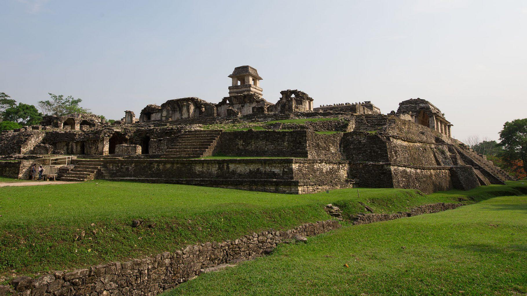 Palenque Pyramids, Mexico