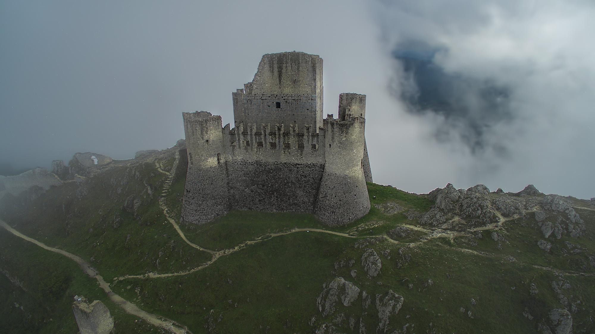 Old Castle near Capestrano
