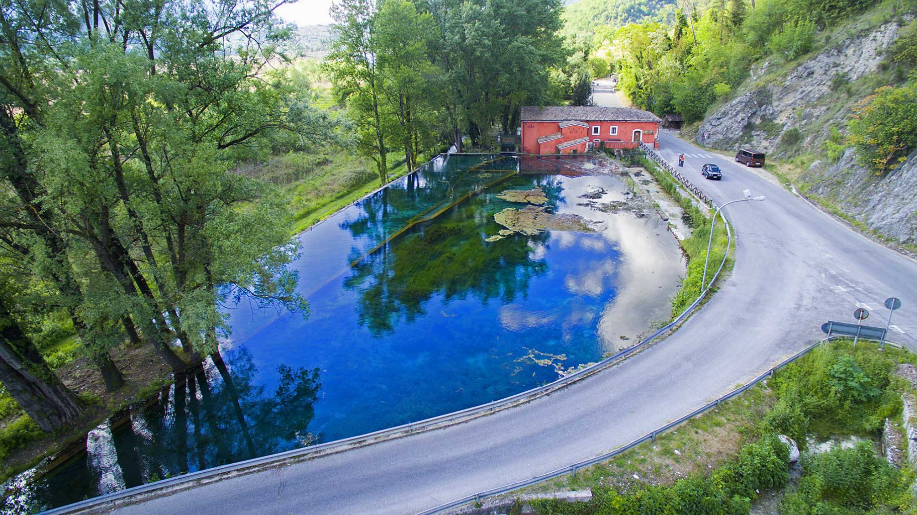 Spring Water Pond, Posta Fibreno, Italy