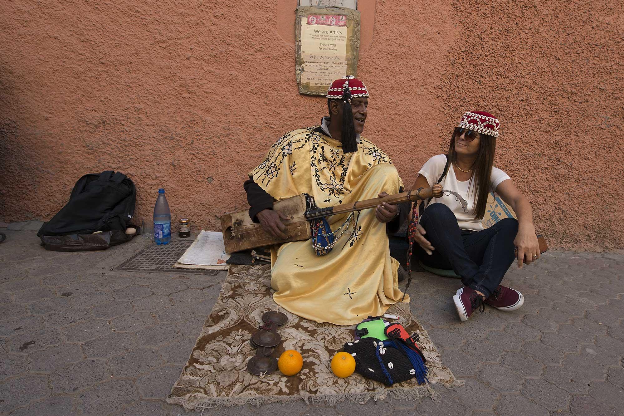 Street Vendor Morocco