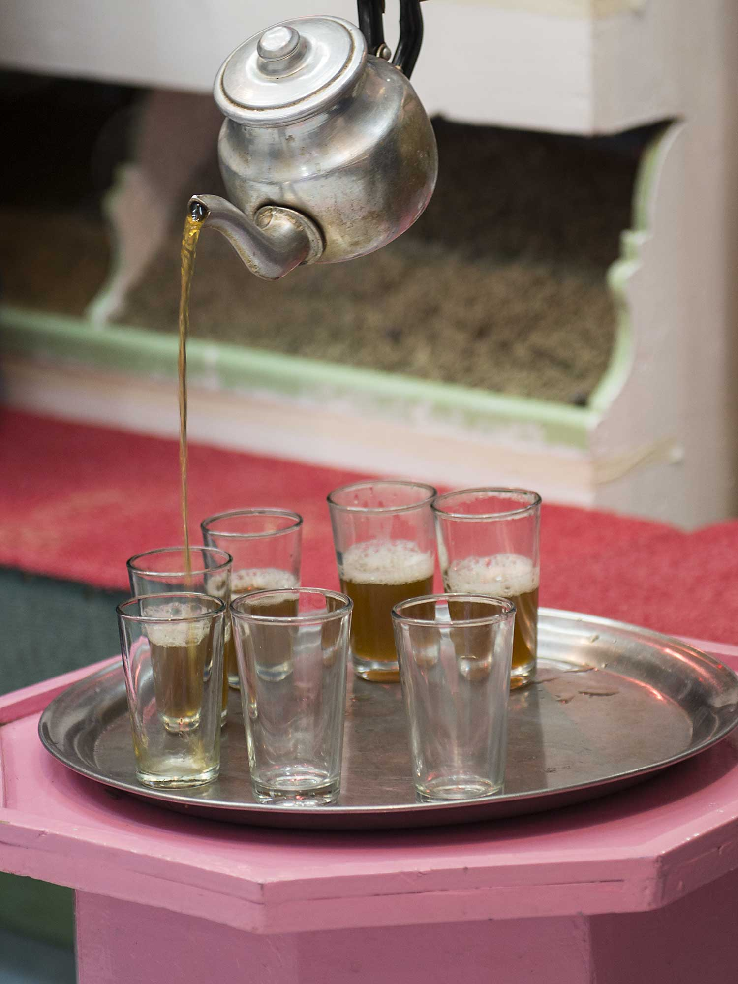 Fresh Tea Morocco
