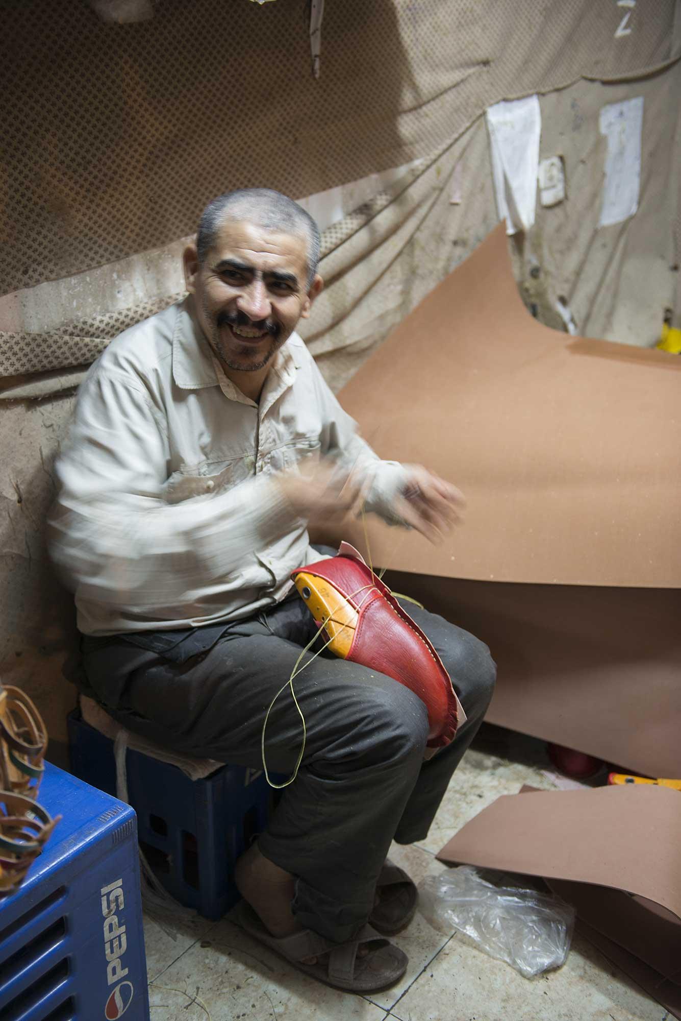 Shoe Maker Marrakech Morocco