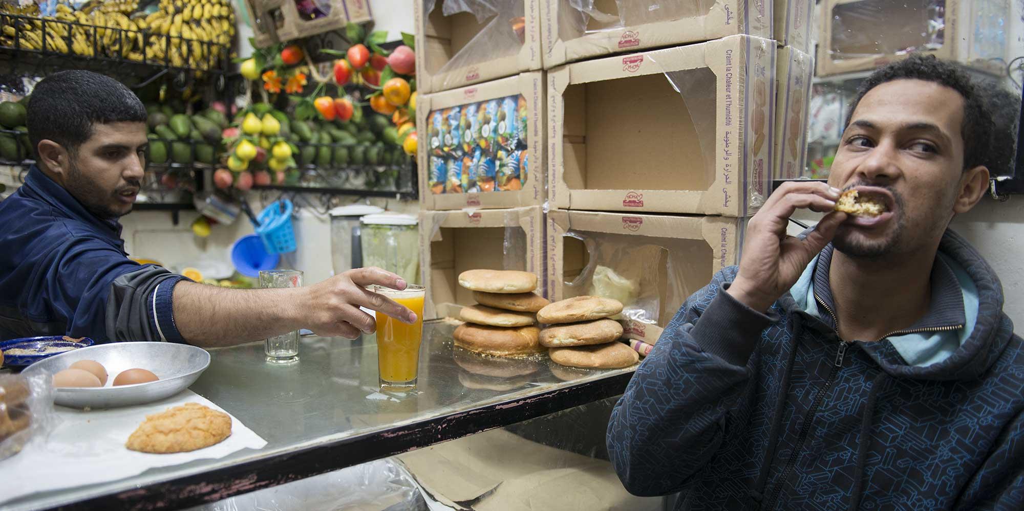 Fast food Morocco