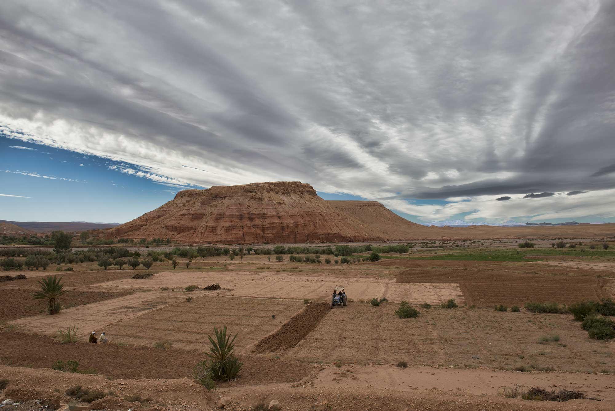 South of the Atlas Ait Saoun Mountains Morocco