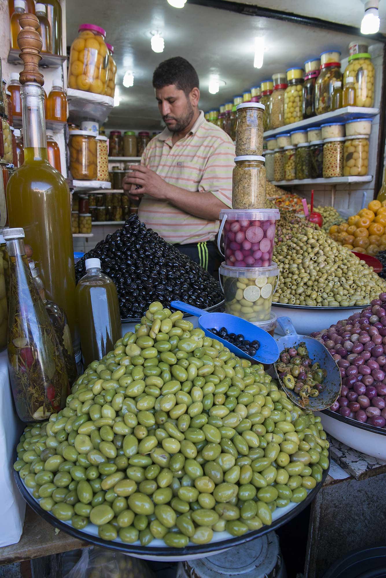 Olive Shop marrakech Morocco