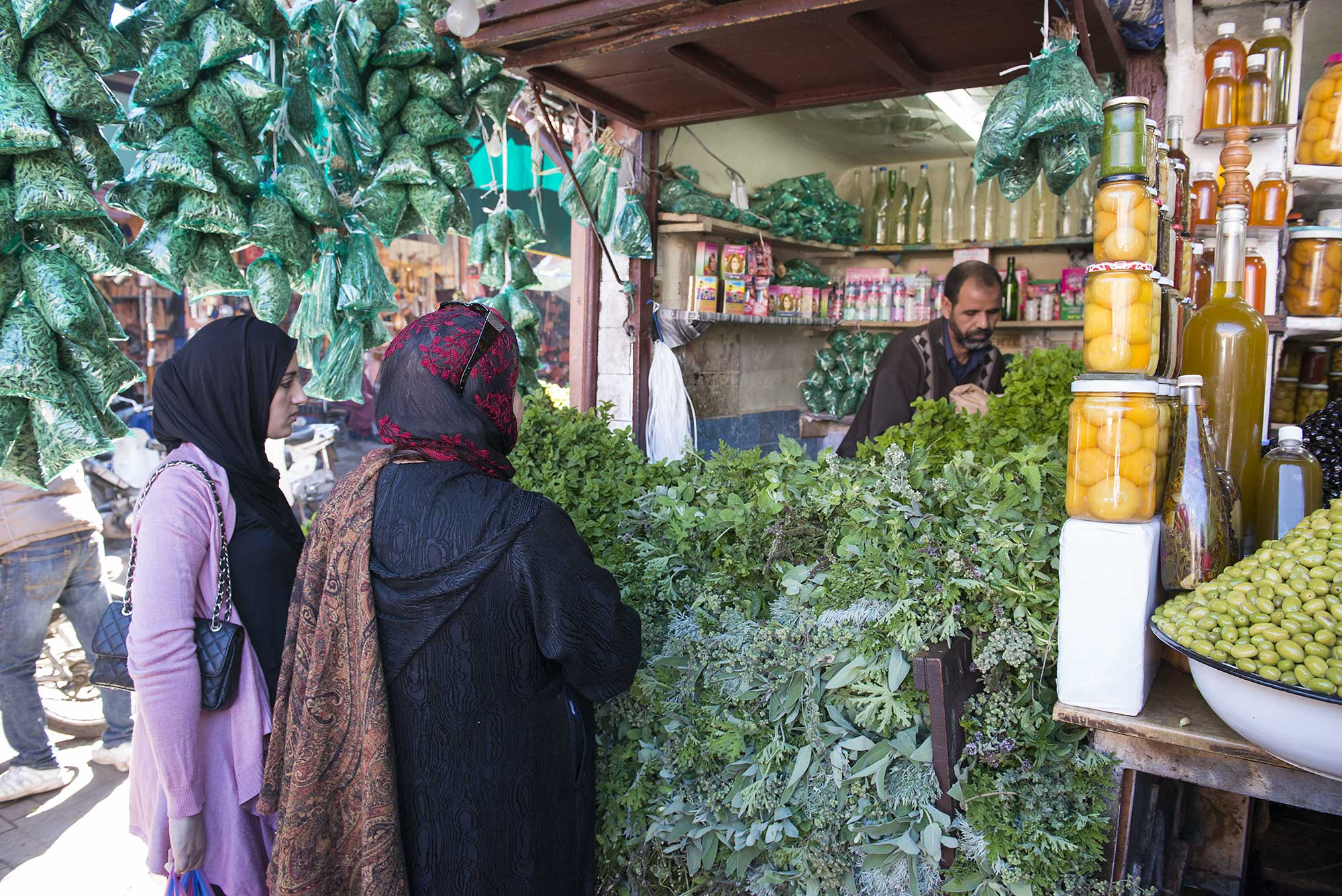 Herbs in Morocco
