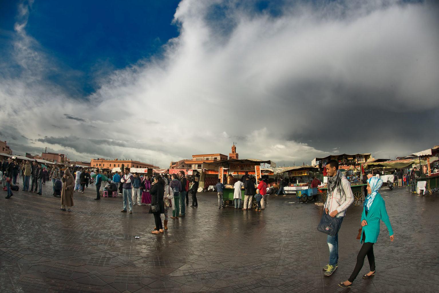 Jemaa el Fnaa Place Marrakech Morocco