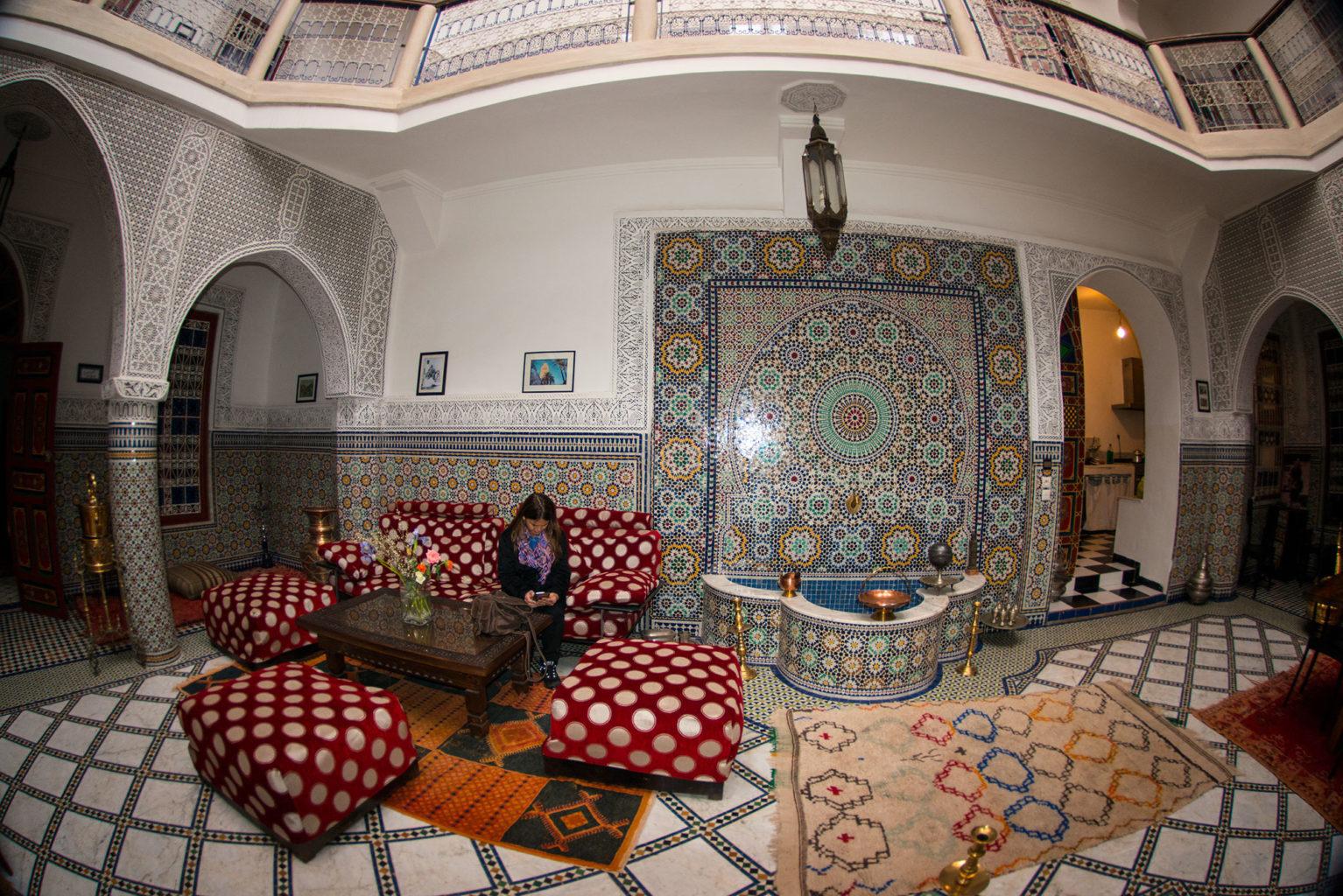 Riad Almoulouk in Marrakech Morocco