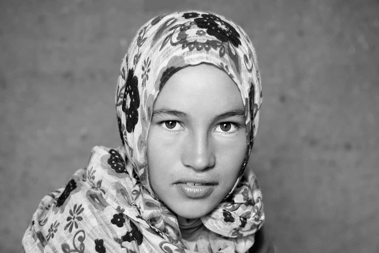 Berber Girl Sahara Desert Morocco