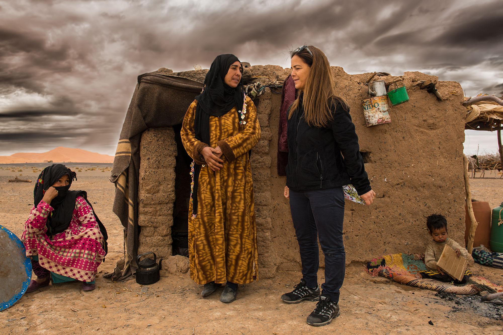 Berber Woman Sahara Desert Morocco