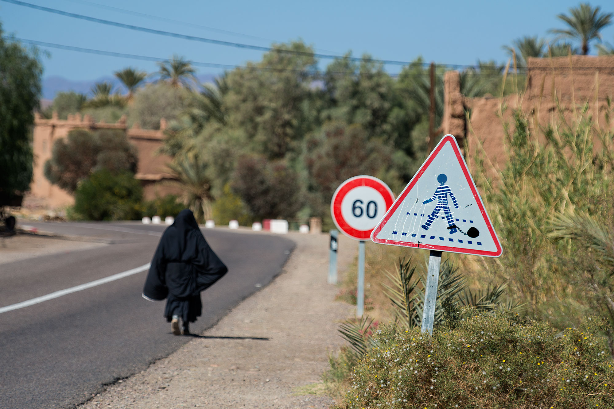 Funny street Sign Morocco