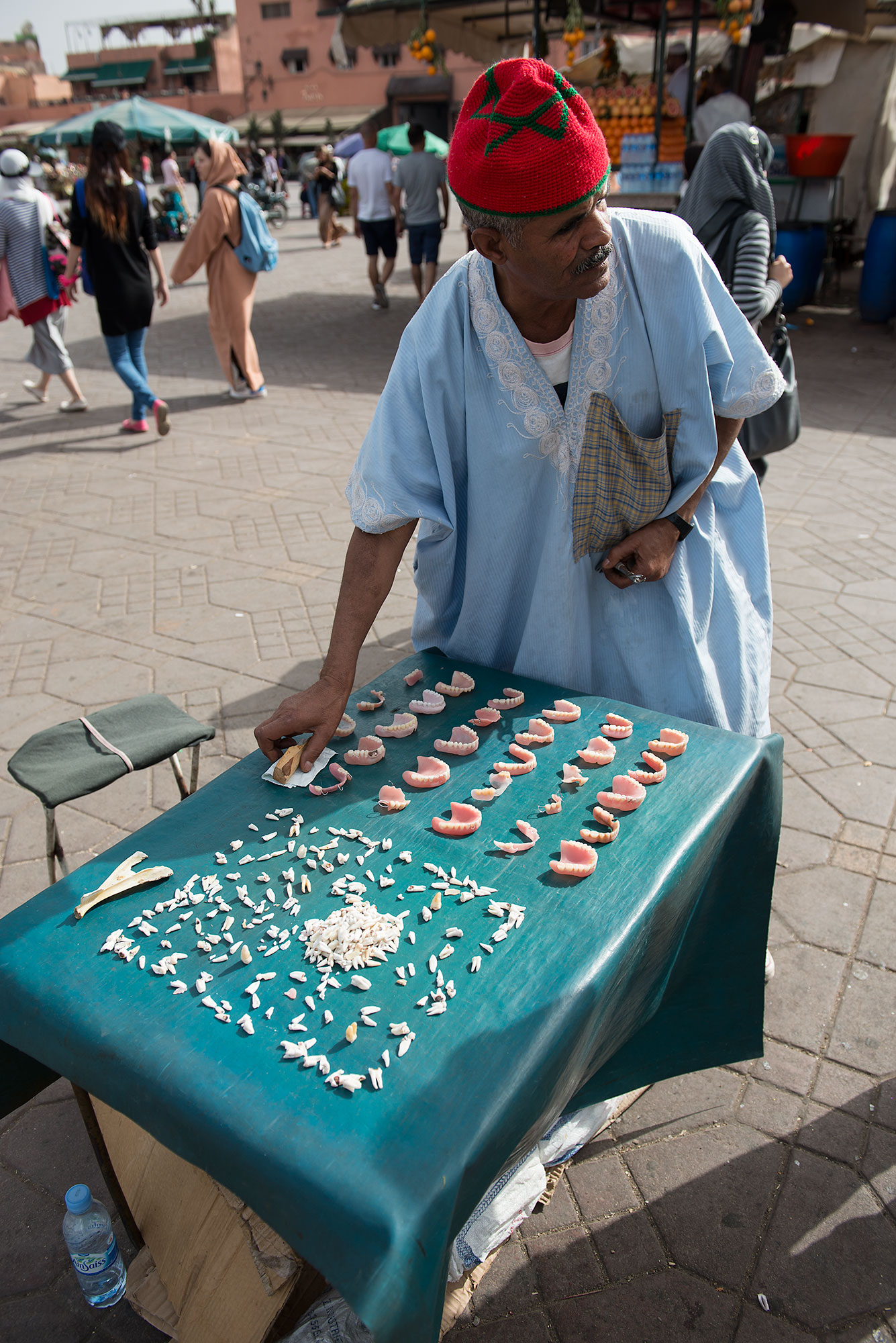 The dentist Jamaa el Fnaa Place Marrakech morocco