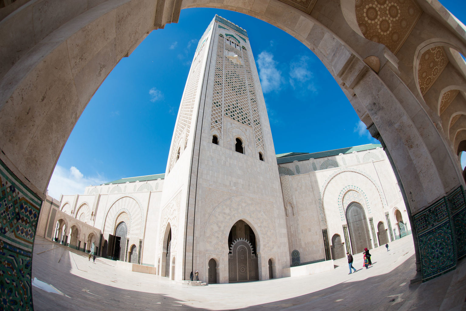 Hassan II Mosque in Casablanca, Morocco
