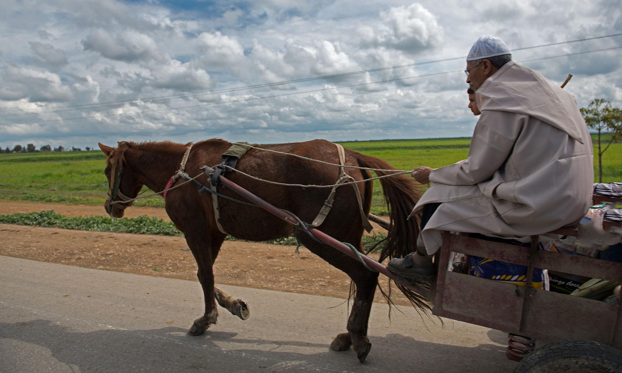 Street Scene Morocco