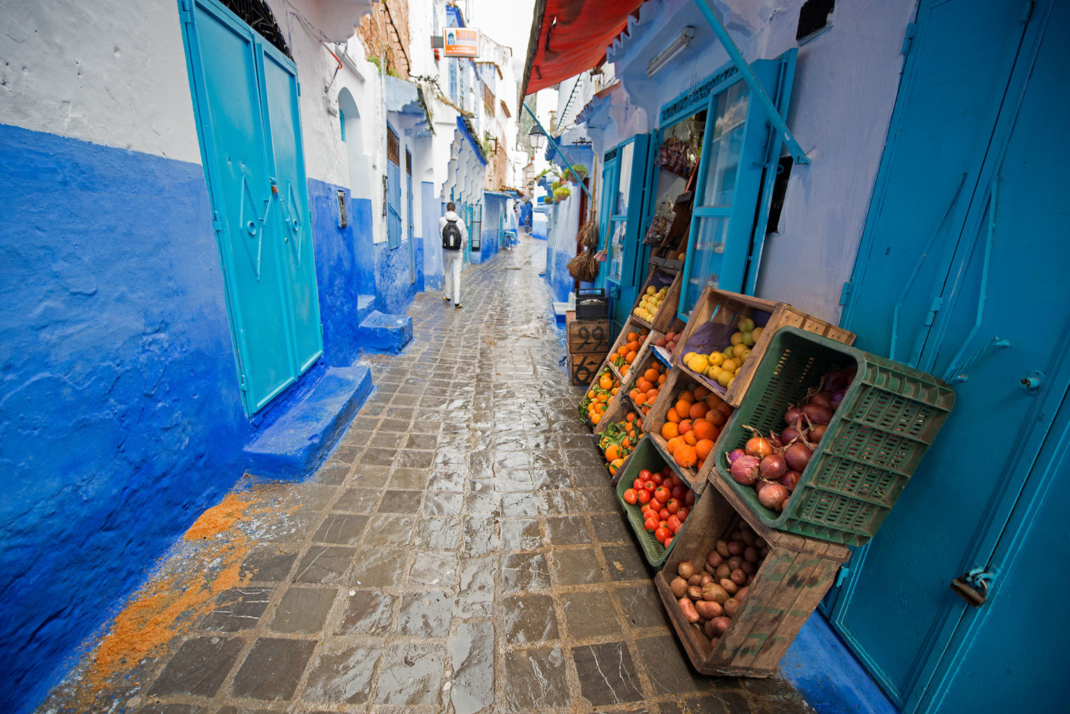 Blue City Northern Morocco