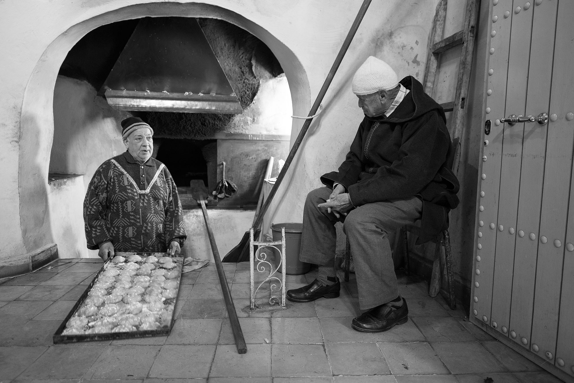 Bakery at Blue City Northern Morocco