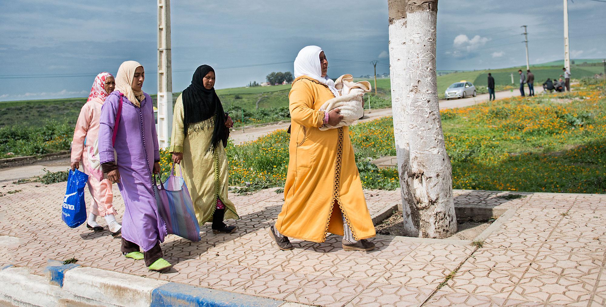 Muslim Woman in Morocco