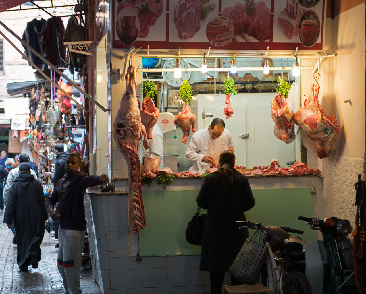 Meat Shop, Marrakech Morocco