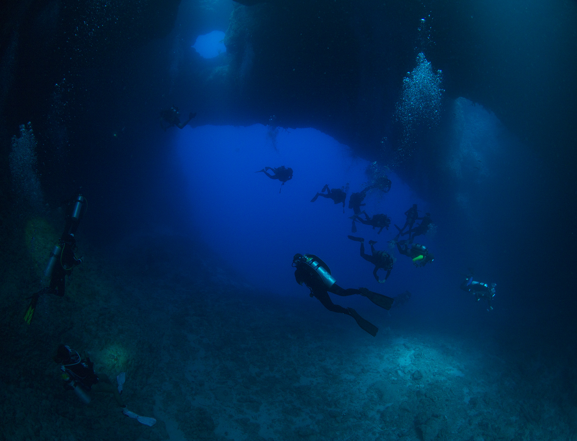 Blue Holes Palau