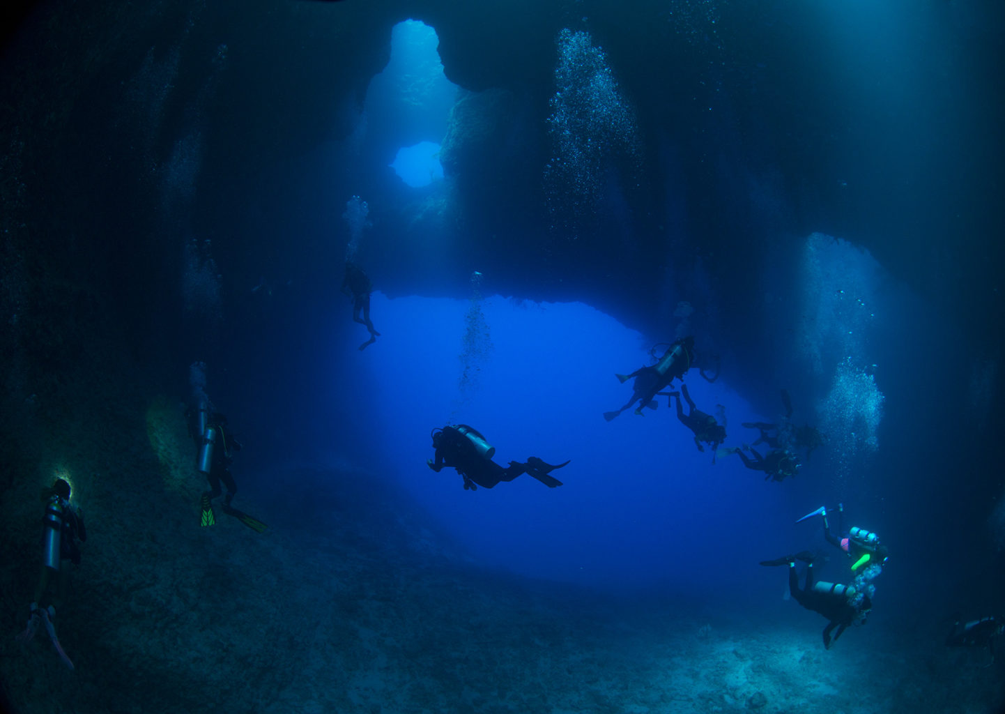 Blue Holes Palau