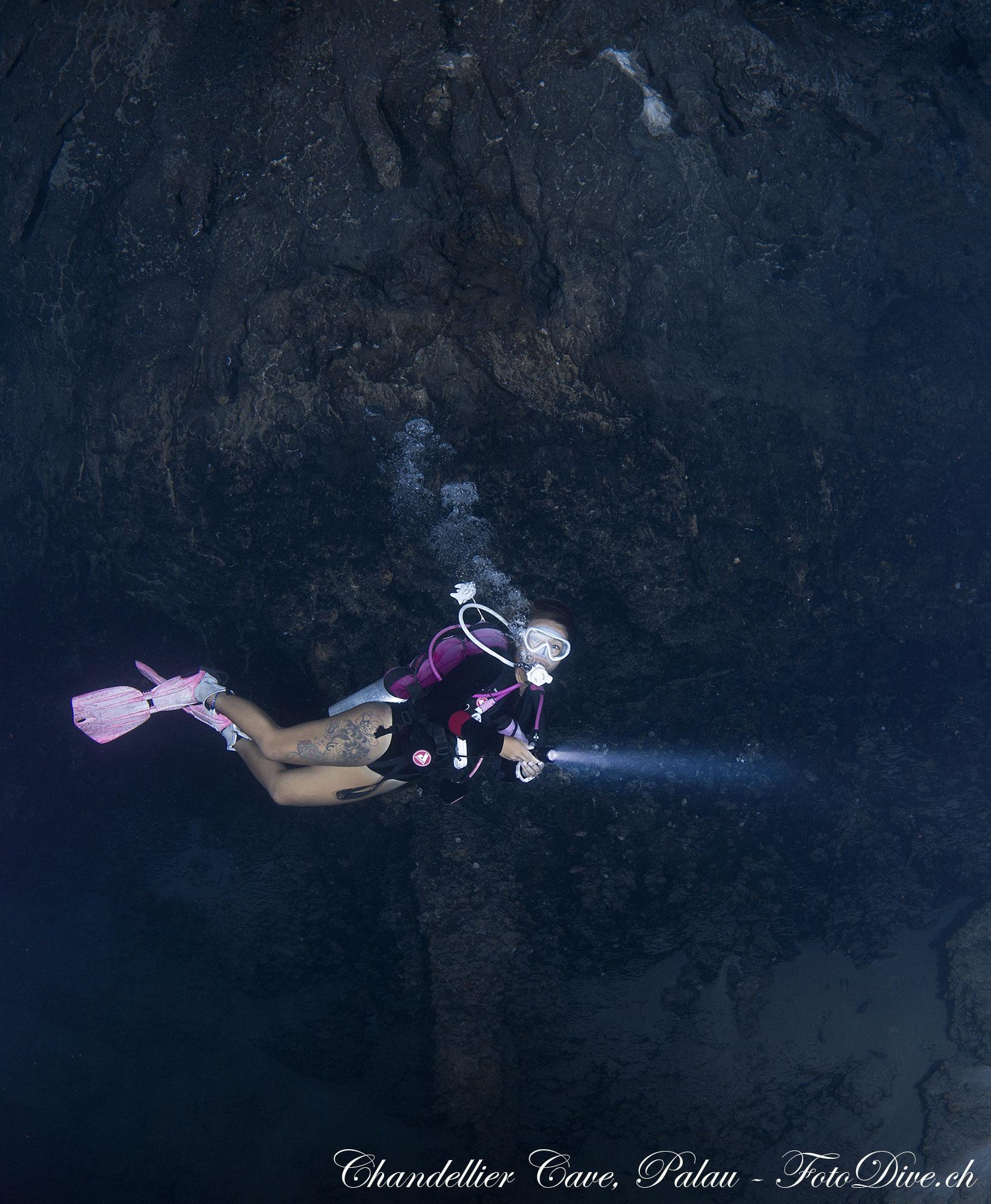 Chandelier Cave - Palau