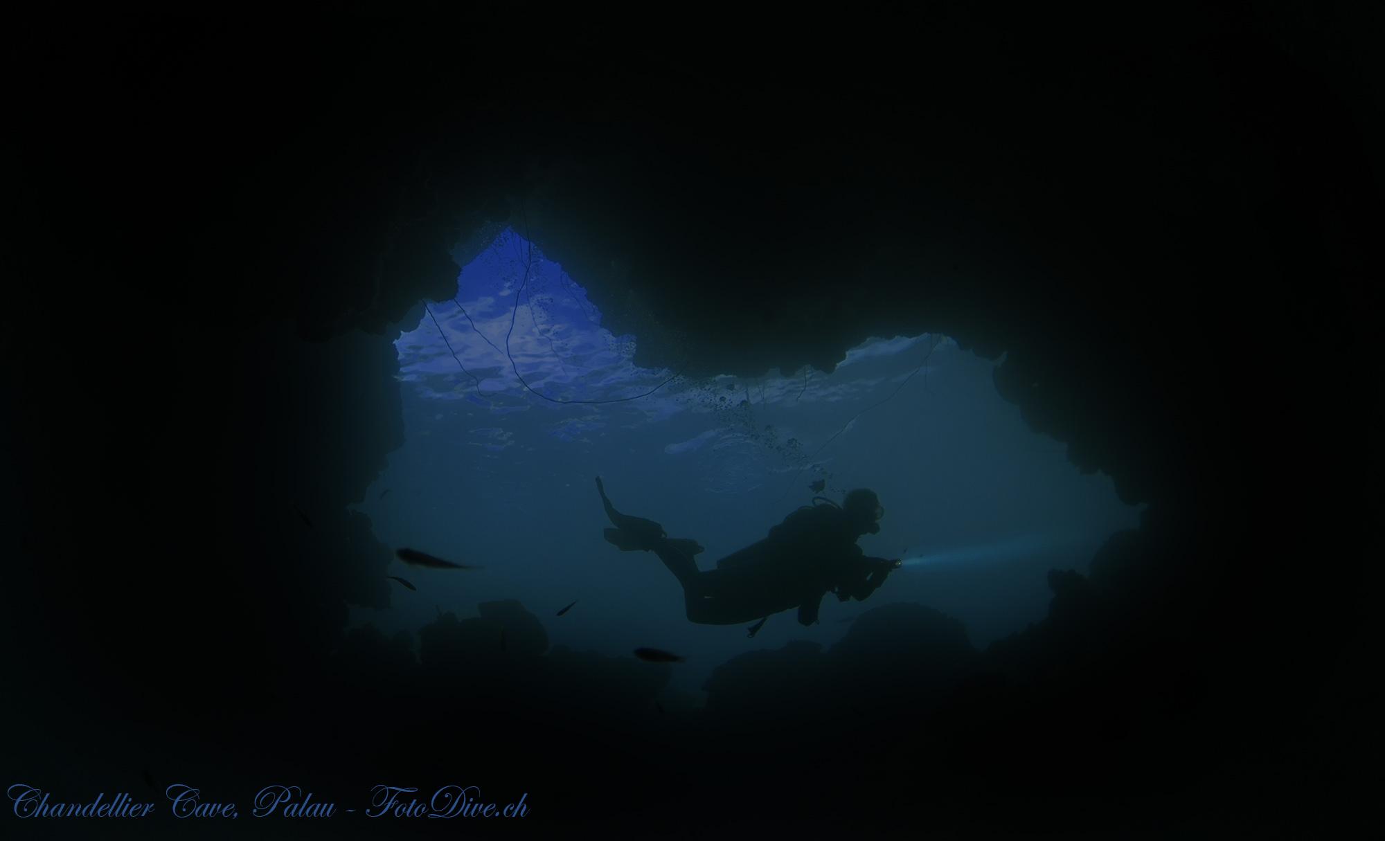 Cave Dive Palau