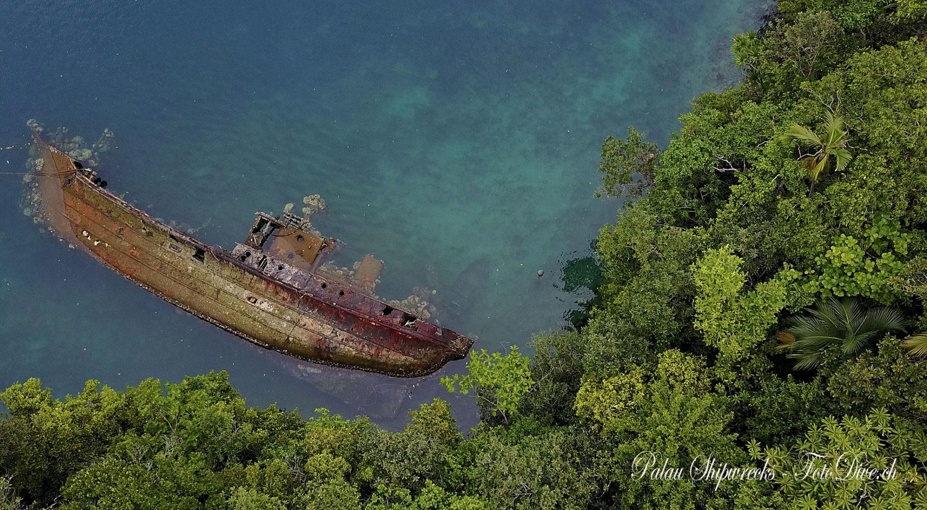 Shipwreck Palau